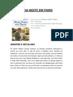Meia-noite Em Paris - Sinopse, Detalhes e Críticas