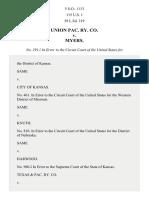 Union Pac. Ry. Co. v. Myers, 115 U.S. 1 (1885)
