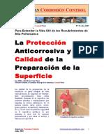 La Protección Anticorrosiva y la Calidad de la Preparación de la Superficie