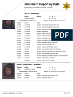 Peoria County Jail booking sheet 04/29/2016