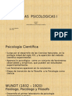Antecedentes de La Psicologia Cientifica