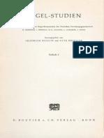 Hans-Friedrich Fulda - Zur Logik Der Phänomenologie von 1807
