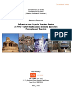 Summary Report on Infrastructure Gaps in Tourism Sector