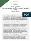 Fong Yue Ting v. United States, 149 U.S. 698 (1893)