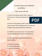 7 Factor of Success