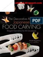 The Decorative Art of Japanese Food Carving Elegant Garnishes for All Occasions