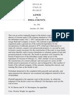 Lewis v. Pima County, 155 U.S. 54 (1894)