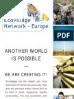 Europe Global Eco Village Network - Leaflet, English