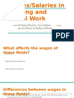 wages-salaries in nursing and social work