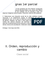 Clase 4 Orden y Reproducción - Clase Social 2016