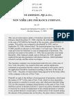 Johnson v. New York Life Ins. Co., 187 U.S. 491 (1903)