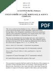 Nashua Savings Bank v. Anglo-American Land, Mortgage & Agency Co., 189 U.S. 221 (1903)