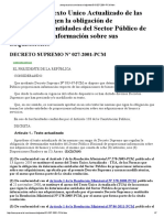 Aempresarial.com Asesor Adjuntos DS 027 2001 PCM