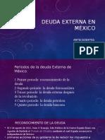 Deuda Externa en México