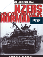 305411836 the Panzers and the Battle of Normandy June 5th July 20th 1944