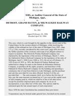 Powers v. Detroit & Grand Haven Ry., 201 U.S. 543 (1906)