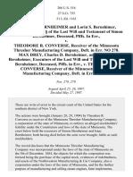 Bernheimer v. Converse, 206 U.S. 516 (1907)