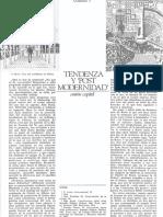 Tendenza y PostModernidad.pdf