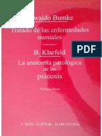 Tratado de las enfermedades mentales - Bumke Tomo 1.pdf