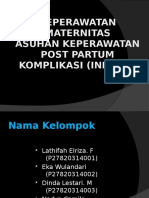 Kep.maternitas Infeksi(1)
