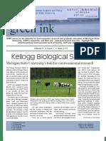Green Ink Newsletter, Spring 2009