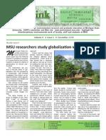 Green Ink Newsletter, December 2008