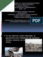 Problematica de Los Residuos en Mexico