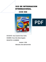 Mercosur Euge