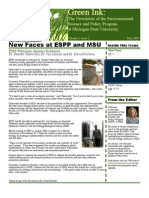 Green Ink Newsletter, May 2007