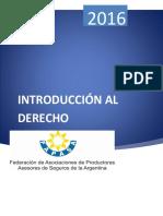 Manual de Introducción Al Derecho 2016