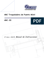 ABC-30 200178 Operation Manual Spanish