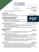 k  hodgkins - resume