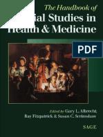 Social Studies of Health