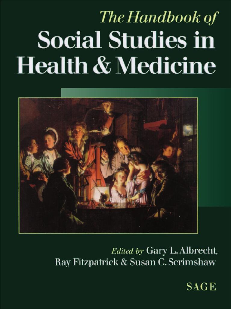 7b681876d0 Social Studies of Health