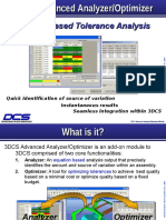 3DCS Advanced Analyzer Optimizer