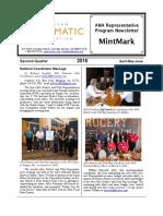 2016 Second Quarter MintMark