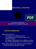 11. Iron Deficiency Anemia 2012
