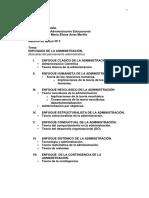 02-Enfoques de La Administración(Escuelas Del Pensamiento)