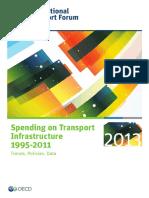 Spending on Transport Infrastructure 1995-2011