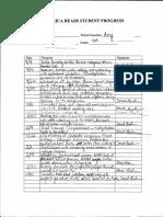 tutoring note sheet on coleman