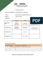 Procedimiento Tuberia HDPE 2015 2