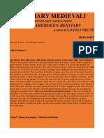Bestiary Medievali - Preite Saveria