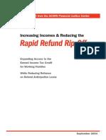 (2004) Rapid Refund Rip-Off