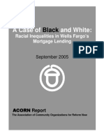 (2005) A Case of Black and White - Inequalities in Wells Fargo's Lending