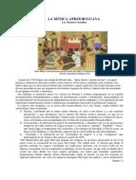 La Música Afrouruguaya - Lic. Beatríz González