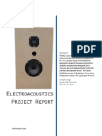 ece 715 electroacoustics project report