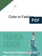 Fashion in Color