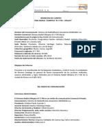 Rendición de Cuentas 2015 - Radio Olímpica Macas