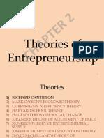2.Theories of Entrepreneurship