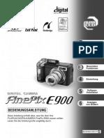 E900 Manual Ger